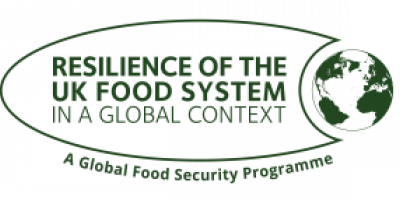 Resilience of the UK food system in a global context logo