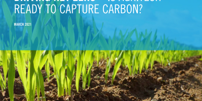 Driving net zero – is agritech ready to capture carbon?