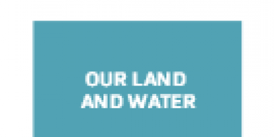 Logo, Our Land and Water