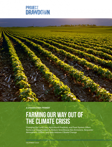 Farming our way out of the climate crisis