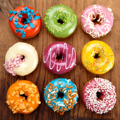 Image: Adam Clark, Baked doughnuts, Flickr, Creative Commons Attribution-ShareAlike 2.0 Generic