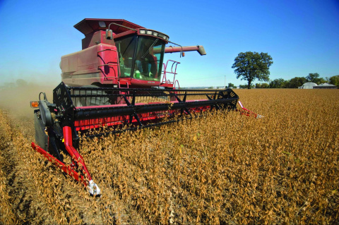 Image: United Soybean Board, Soybean harvest, Flickr, Creative Commons Attribution 2.0 Generic
