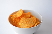 Image: PDPics, Potato chips, Pixabay, Pixabay License